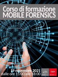 mobile forensics locandina